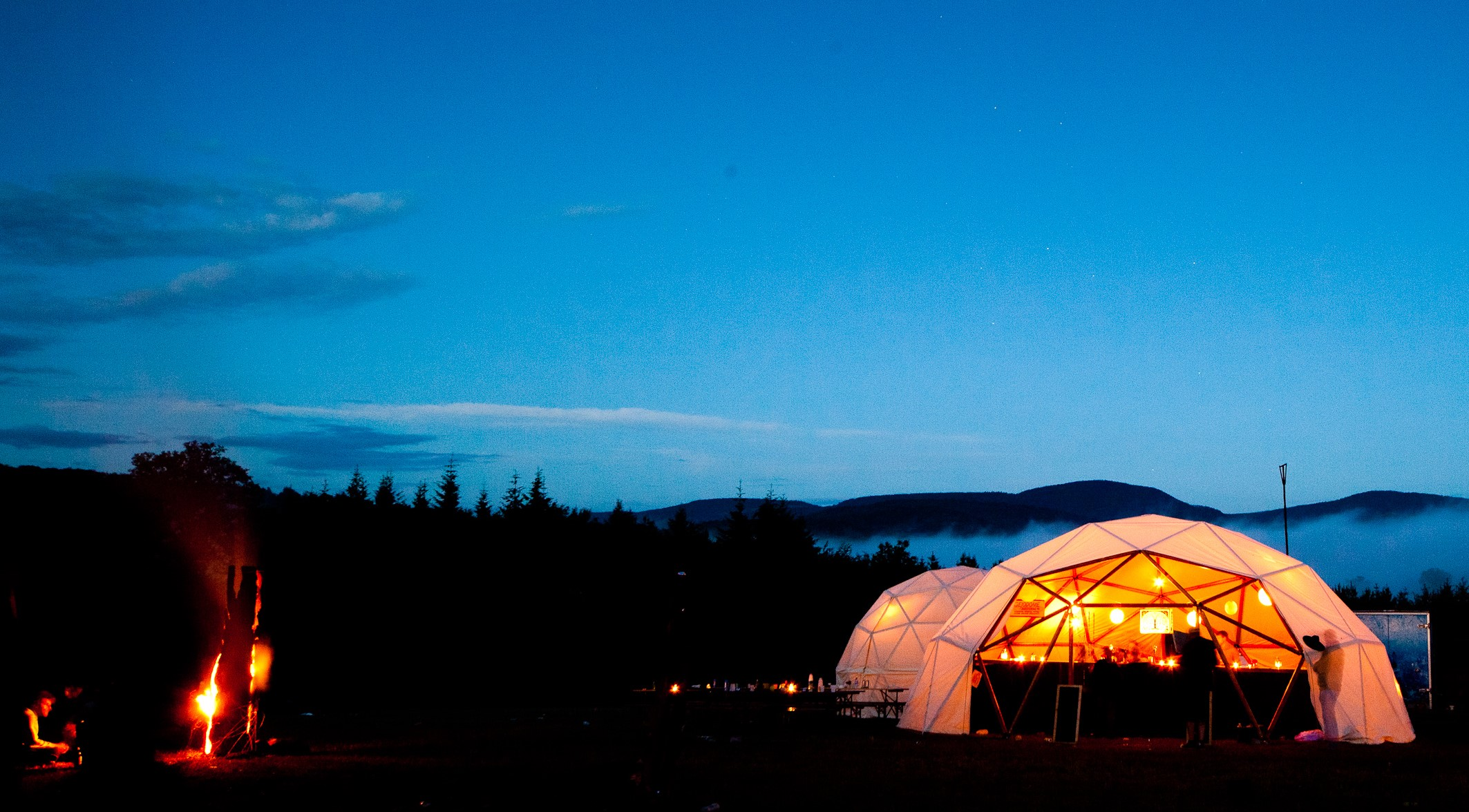 Geodesic Dome Festival Nature Night